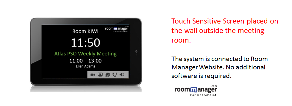Free Online Meeting Room Manager